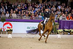 SCHMIDT Hubertus (GER), Denoix PCH<br /> Frankfurt - Festhallen Reitturnier 2019<br /> NÜRNBERGER BURG-POKAL der Dressurreiter – Finale 2019<br /> St-Georg-Special für 7-9 jährige Pferde<br /> 21. Dezember 2019<br /> © www.sportfotos-lafrentz.de/Stefan Lafrentz