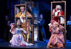 Edinburgh, Scotland, UK. 23 August, 2018. Preview of Rossini's opera La Cenerentola ( Cinderella) by Opera de Lyon and directed by Stefan Herheim at the Festival Theatre and part of the Edinburgh International Festival.