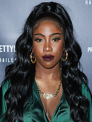 WEST HOLLYWOOD, LOS ANGELES, CA, USA - NOVEMBER 05: PrettyLittleThing X Hailey Baldwin Launch Event held at Catch LA Restaurant on November 5, 2018 in West Hollywood, Los Angeles, California, United States. 05 Nov 2018 Pictured: Sevyn Streeter. Photo credit: Xavier Collin/Image Press Agency/MEGA TheMegaAgency.com +1 888 505 6342