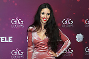 Ex-Miss Schweiz Lauriane Sallin anlässlich der Glory-Verleihung 2018 am 12. Januar 2019 im Aura Club Zürich.
