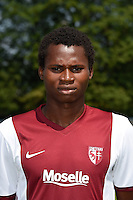 Habib DIALLO - 01.08.2014 - Photo Officielle de Metz -<br /> Photo : Fred Marvaux / Icon Sport