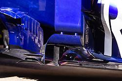 February 28, 2019 - Barcelona, Barcelona, Spain - Toro Rosso aerodinamic detail of sidepod  during the Formula 1 2019 Pre-Season Tests at Circuit de Barcelona - Catalunya in Montmelo, Spain on February 28. (Credit Image: © Xavier Bonilla/NurPhoto via ZUMA Press)