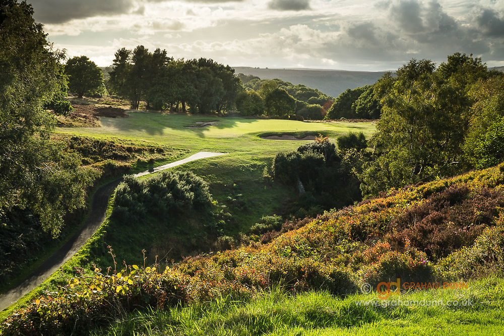 Golf course photography commission - Sheffield