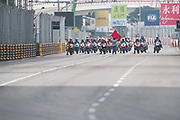 Start of the 52nd Motorcycle Grand Prix<br /> <br /> 65th Macau Grand Prix. 14-18.11.2018.<br /> Suncity Group Macau Motorcycle Grand Prix - 52nd Edition.<br /> Macau Copyright Free Image for editorial use only