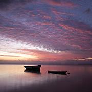 Sunset in Tamarin, Mauritius