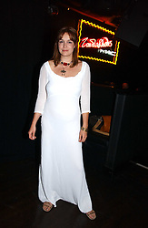 Actress LUCY BROWN at a party to celebrate Zandra Rhodes's return to London Fashion week and the launch of a limited edition of M.A.C makeup at Silver, 17 Hanover Square, London W1 on 20th September 2006.<br /><br />NON EXCLUSIVE - WORLD RIGHTS