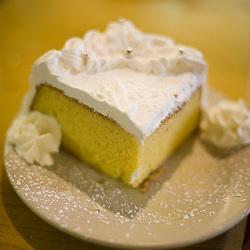 Richmond, VA - June 29, 2009 - The delicious Tres Leches cake at KubaKuba in Ricmond.  Photo © Susana Raab 2009