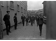 Haughey and Boland leave the Bridewell.28/05/1970