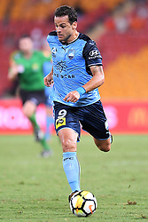 January 8, 2018 - Brisbane, QUEENSLAND, AUSTRALIA - Bobo of Sydney (9) dribbles the ball during the round fifteen Hyundai A-League match between the Brisbane Roar and Sydney FC at Suncorp Stadium on Monday, January 8, 2018 in Brisbane, Australia. (Credit Image: © Albert Perez via ZUMA Wire)