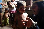 Ecuador, May 9 2010: Images from Huaorani EcoLodge. Copyright 2010 Peter Horrell