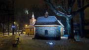 Kaplica Gąsieniców i Stary Kościół na Pęksowym Brzyzku w Zakopanem.