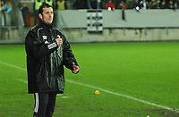 Fotball Royal League Trondheimn 11.11.2004 – Rosenborg – Djurgården 4-4 ny hovedtrener for RBK Per Joar Hansen<br />Foto: Carl-Erik Eriksson, Digitalsport