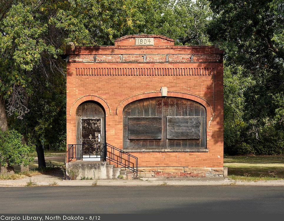 Library / Carpio, North Dakota    9/12