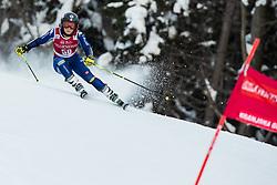Valentina Cillara Rossi (ITA) during the Ladies' Giant Slalom at 57th Golden Fox event at Audi FIS Ski World Cup 2020/21, on January 16, 2021 in Podkoren, Kranjska Gora, Slovenia. Photo by Vid Ponikvar
