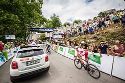 Jani Brajkovic of Adria Mobil during 3rd Stage of 25th Tour de Slovenie 2018 cycling race between Slovenske Konjice and Celje (175,7 km), on June 15, 2018 in  Slovenia. Photo by Vid Ponikvar / Sportida