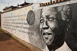 June 3, 2016 - Memorial to Nelson Mandela, Soweto, Johannesburg, Gauteng, South Africa, Africa (Credit Image: © AGF via ZUMA Press)