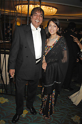 DR AVTAR LIT and his wife ANITA at the Eastern Eye Asian Business Awards 2007 in the presence of HRH The Duke of York at the Hilton Park Lane, London on 8th May 2007.<br /><br />NON EXCLUSIVE - WORLD RIGHTS
