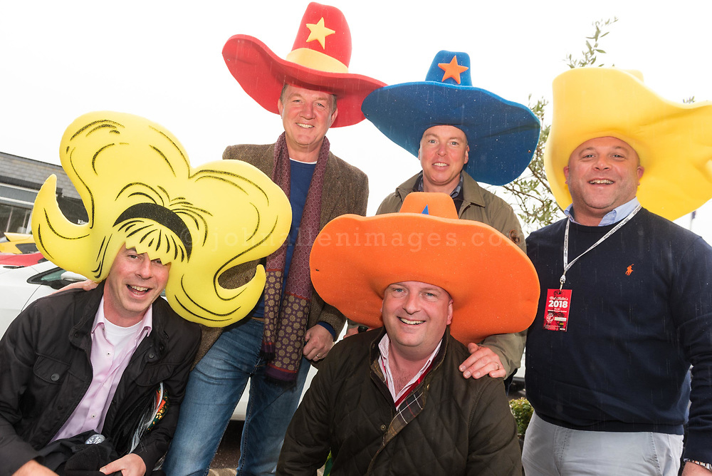 REPRO FREE<br /> John O'Sullivan, Rob Casey, Mitch Hegarty,Paul Hawkesworth and Philip Hosford from Crosshaven pictured at the 42nd Kinsale Gourmet Festival Mad Hatters Taste of Kinsale.<br /> Picture. John Allen