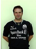 Fotball   18 mars  2007  <br /> La Manga<br /> Portretter Adeccoligaen<br /> Moss<br /> Foto: Dagfinn Limoseth, Digitalsport <br /> <br /> Geir Bakke , trener