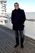 Jorgen Raymann en Ramon Beuk onthullen plannen voor <br /> dé nieuwe culinaire comedyshow Tasty Comedy op de de volledig gerenoveerde Pier in Scheveningen. Tasty Comedy een avondvullende comedyshow met een 4-gangen 'shared dining' diner op een unieke locatie.<br /> <br /> Op de foto:  Jörgen Raymann