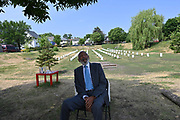 6/24/21  James Meredith sits in front of a cemetery made to memorialize  the Black Lives that have been lost by murder by police, including George Floyd, Breonna, and Dante Wright, and Trevon Martin. Civil Rights maverick, and Mississippi's Native son, James Meredith visits George Floyd Memorial Square the day before ex police officer Eric Chauvin is sentenced for the murder of George Floyd.  Meredith is in Minnesota for More Than A Moment, a series of roundtable discussions with students, educators, lawyers, and community leaders and faith leaders to discuss ways to end racism and how to build strong community leaders. Meredith emphasized the importance of speaking the truth and working together to make change for the better in our communities. Photo © Suzi Altman 6/24/21 James Meredith poses outside Cup Foods in front of the George Floyd memorial mural, Meredith says he was the George Floyd of his time. The site where Floyd was brutally killed by ex police officer Eric Chauvin who will be sentenced for the murder Friday June 25th. Civil rights icon James Meredith visits George Floyd Memorial Square the day before ex police officer Derek Chauvin is sentenced for the murder of George Floyd. Meredith is in Minnesota for More Than A Moment, a series of roundtable discussions with students, educators, lawyers, and community leaders and faith leaders to discuss ways to end racism and how to build strong community leaders. Meredith emphasized the importance of speaking the truth and working together to make change for the better in our communities. Photo © Suzi Altman #jamesmeredith #georgefloyd #minneapolis #minnesota #justice #peace #mural #memorial #education #suzialtman #shotoniphone #derekchauvin #murder #blacklivesmatter photo copyright © @suzialtman  #derekchauvin
