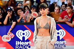 Halsey arrives on the red carpet at the iHeartRadio MMVAs in Toronto, ON, Canada, on Sunday August 26, 2018. Photo by Frank Gunn/CP/ABACAPRESS.COM