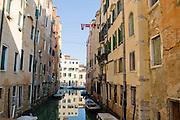 Italy, Venice, Canal
