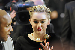 60717236<br /> Miley Cyrus at the Bambi Awards 2013 at Stage Theatre in Berlin, Germany, Thursday, 14th November 2013. Picture by imago / i-Images<br /> UK ONLY