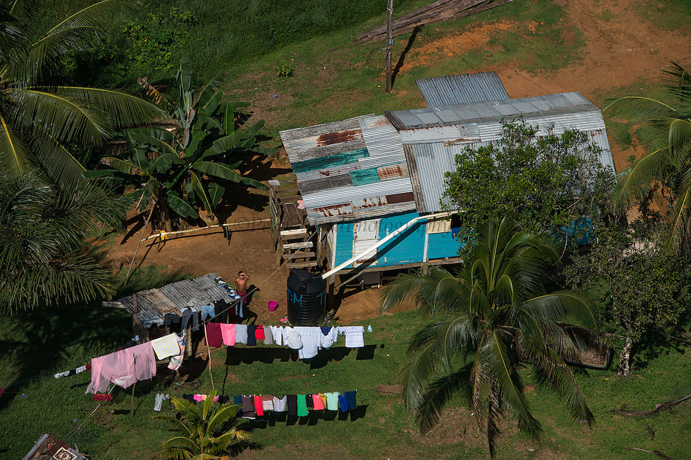 Local House<br /> North west GUYANA<br /> South America