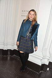 AMBER ATHERTON at a party to celebrate the launch of the new gallery Pace at 6 Burlington Gardens, London on 3rd October 2012.