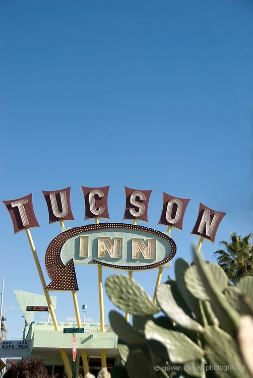 Motel sign in Tucson, AZ