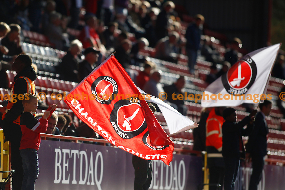 GV during the Sky Bet League 1 match between Charlton Athletic and Coventry City at The Valley in London. October 15, 2016.<br /> John Marsh / Telephoto Images<br /> +44 7967 642437