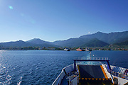 The Ferry from Kavala to Thasos, Greece