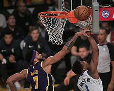 Lakers vs Mavericks - 31 Oct 2018