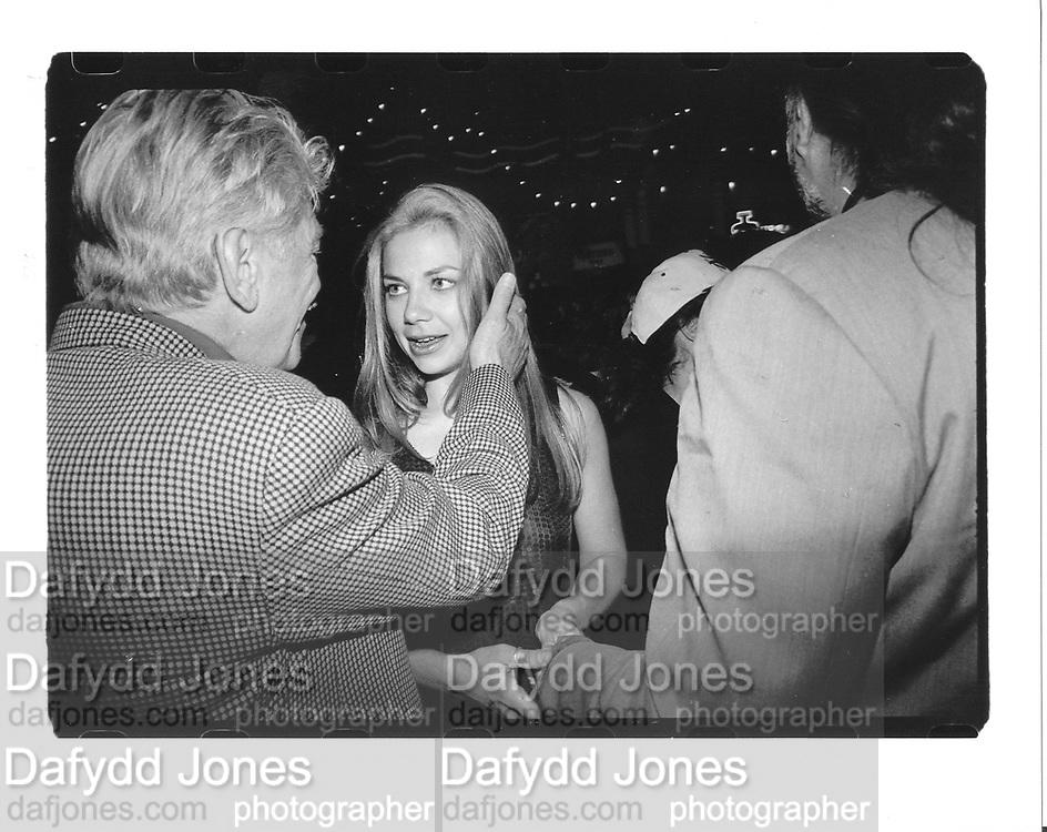 John Picker, Justine Bateman and William Morris. the `Night we never Met'. Webster Hall party. © Copyright Photograph by Dafydd Jones 66 Stockwell Park Rd. London SW9 0DA Tel 020 7733 0108 www.dafjones.com