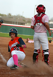 13 April 2010: Nicole Linares. The Illini of Illinois knock off the Illinois State Redbirds 5-1 on the campus of Illinois State University in Normal Illinois.