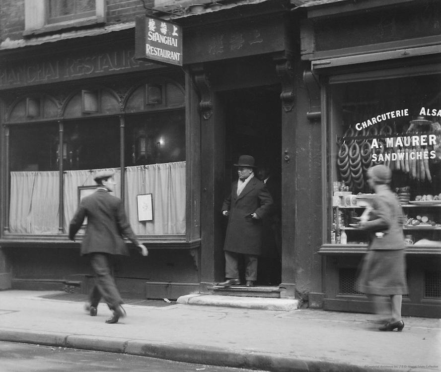 Shanghai Restuarant, Greek Street, London, 1933