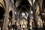 Nederland, Leeuwarden, 17-8-2018 Sint Bonifatiuskerk . Foto: Flip Franssen