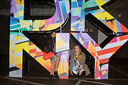 Club DKNY in celebration of DKNYARTWORKS hosted by Cara Delevingne  at The Fire Station, Lambeth High St. London. 12 June 2013