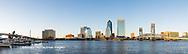 63412-01008 St. Johns River and Jacksonville Florida skyline at twilight Jacksonville, FL