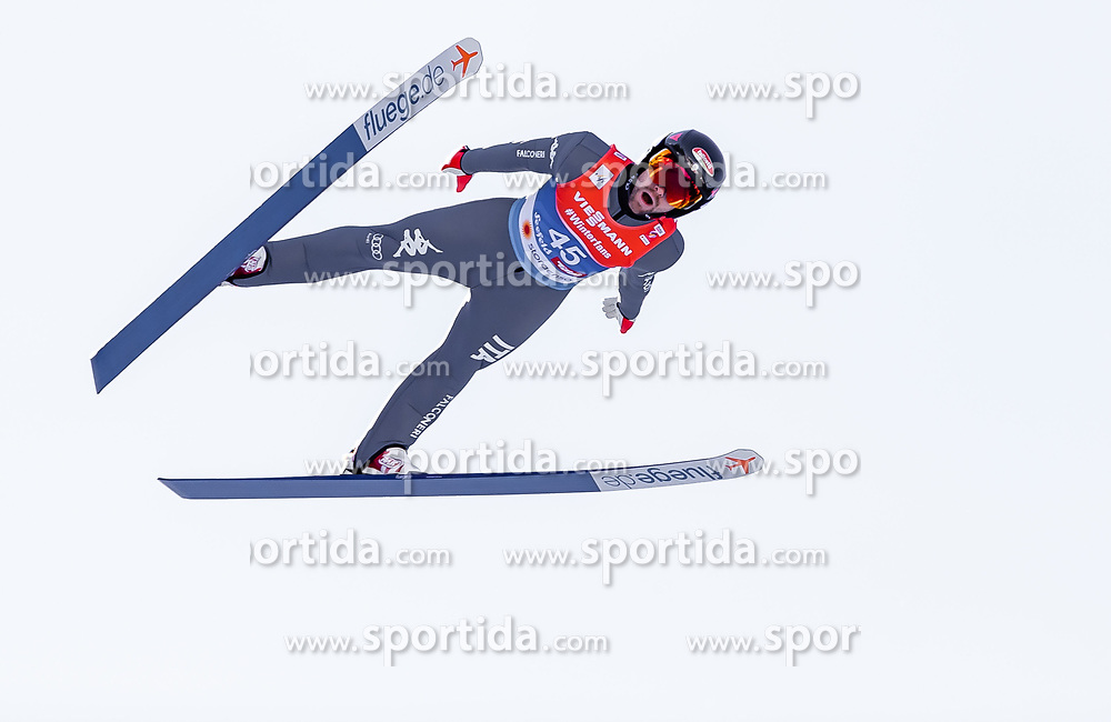 28.02.2019, Seefeld, AUT, FIS Weltmeisterschaften Ski Nordisch, Seefeld 2019, Nordische Kombination, Skisprung, im Bild Alessandro Pittin (ITA) // Alessandro Pittin of Italy during the Ski Jumping competition for Nordic Combined of FIS Nordic Ski World Championships 2019. Seefeld, Austria on 2019/02/28. EXPA Pictures © 2019, PhotoCredit: EXPA/ JFK