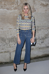Sienna Miller attending the Louis Vuitton show as part of the Paris Fashion Week Womenswear Fall/Winter 2018/2019 held at Le Louvre, in Paris, France, on march 05, 2018, France. Photo by Jerome Domine/ABACAPRESS.COM
