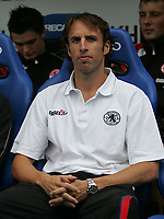 Photo: Lee Earle.<br /> Reading v Middlesbrough. The Barclays Premiership. 19/08/2006. Middlesbrough manager Gareth Southgate.