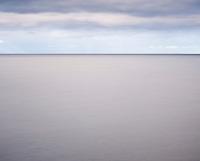 Abstract long exposure of Vestfjord, Stamsund, Lofoten islands, Norway