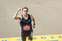 120th Boston Marathon, Patrick Reaves of Oregon, finishes 38th overall