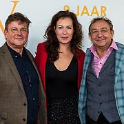 NLD/Katwijk/20191030 - 9 jaar Soldaat van Oranje, Jon van Eerd met partner Ton Fiere en Anne Lamsvelt