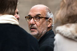 © London News Pictures. 05/03/2016. London, UK. ALAN YENTOB attends a ceremony to mark the wedding of Rupert Murdoch and Jerry Hall held at St Brides Church on Fleet Street,  central London on February 05, 2016. . Photo credit: Ben Cawthra /LNP
