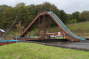 GHOST TRAIN Haunting pictures show what is left of Scotland's best theme park where one worker tragically died<br />