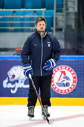 Dejan Varl at ice hockey practice one day before at IIHF World Championship DIV. I Group A Kazakhstan 2019, on April 28, 2019 in Barys Arena, Nur-Sultan, Kazakhstan. Photo by Matic Klansek Velej / Sportida