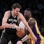 Basketball: LA Lakers vs San Antonio Spurs
